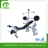 Gym Used Professional Weight lifting Bench for sale