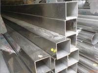 black square &rectangular steel pipe /hollow section square steel pipe price