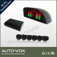 3 color LED 4 channel parking sensor kit with 41KHz for Toyota