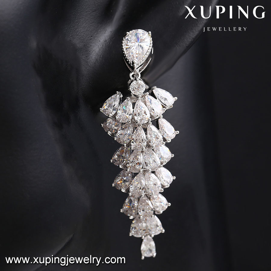 E-137 Xuping earrings imitation jewelry as new products on china market