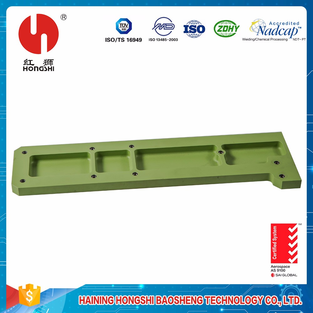 CNC Milling Precision Parts Spray Color Coating Perforated Sheet Metal Frame for Industry