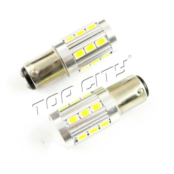 Easy Installation 6000K White 21SMD 5630 1157 BAY15D P21/5W 12V LED Stop/Tail bulbs