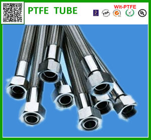 PTFE SS braided pipe