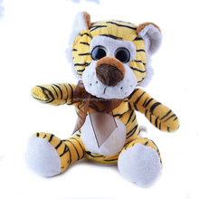 Cute Wearing ribbons Voice break big eyes funny Repeat recording lion toys