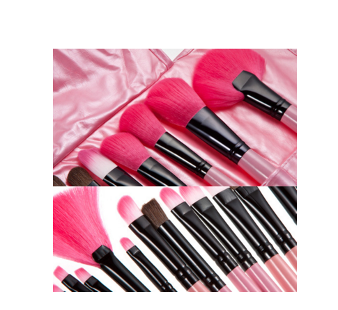 colorful color makeup brushes synthetic make-up brush for face painting