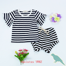 T shirt and shorts stripes set baby clothes unique baby girl names alibaba co uk