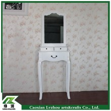 solid wood dresser / dressing table with mirror for bed room