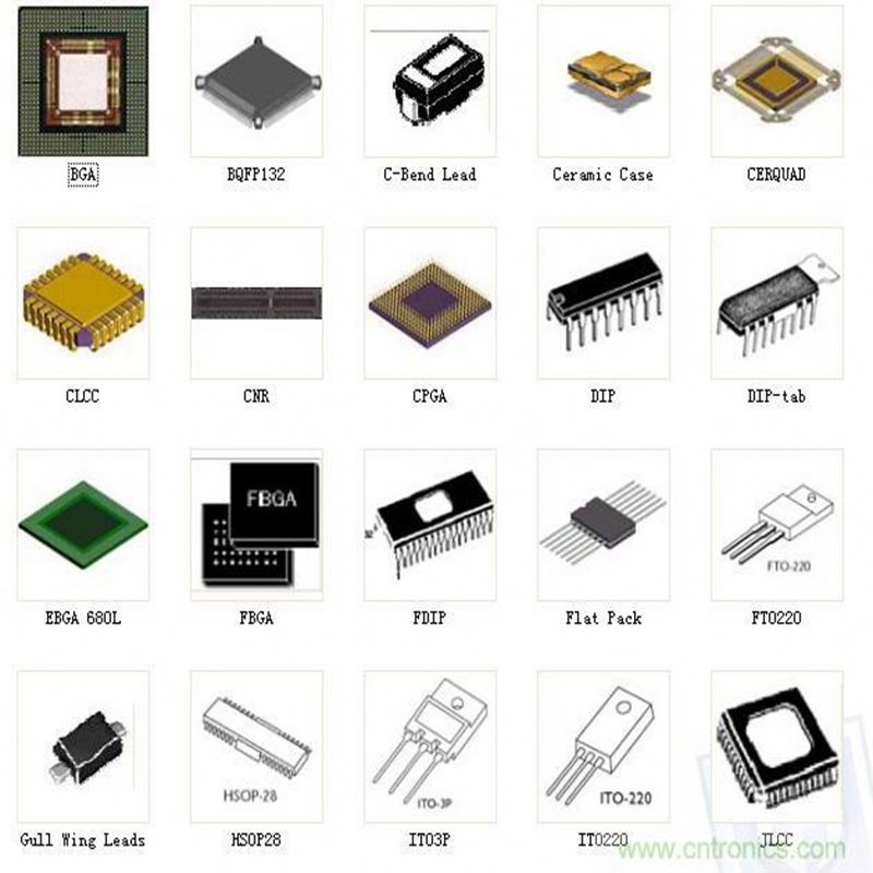 Electronic Spare Parts Mobile Phone Keypad Laptop Display Ic