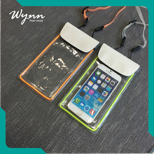 New design colored dry waterproof bag for cell phone
