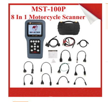 Digital motorcycle diagnostic scanner / 8 in 1 Handheld MOTOR SCANNER MST-100P