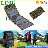 5V 7W Portable Folding Solar Panel Source Power Mobile USB Charger for Cell phones GPS Digital Camera PDA
