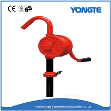 Hand rotary drum pump diesel oil fuel barrel oriental hand oil pump