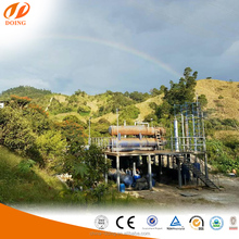 Small scale pyrolysis plant waste tyre recycling plant/plastic to oil recycling machine