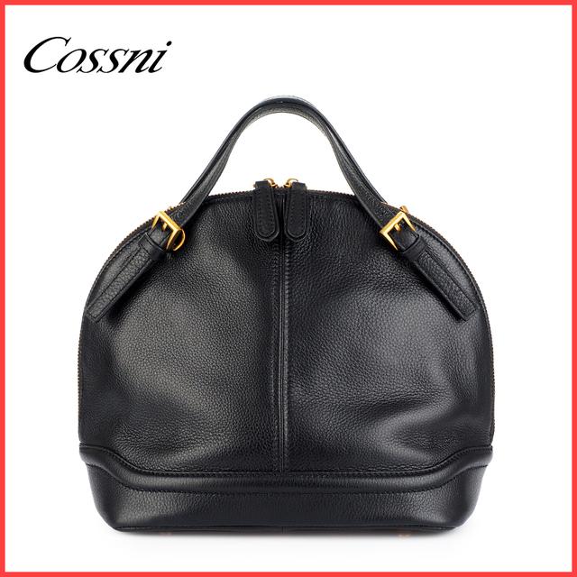 Stylish cheap fashion brands handbag custom-made vintage genuine leather handbag