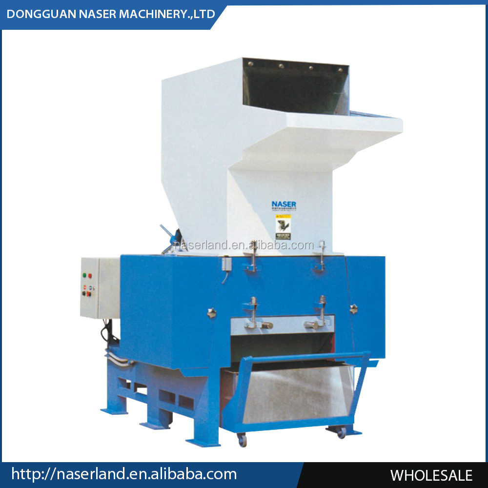 High efficient Plastic recycling machine/waste plastic crushing machine with CE