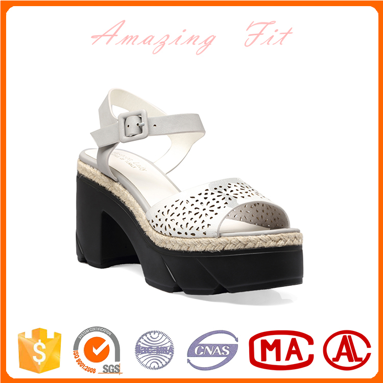 Wholesale China manufacturer PU leather low price ladies sandals