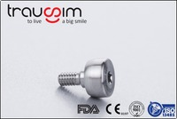 Titanium Disposable Dental Implant Abutment Set and Surgical Caps