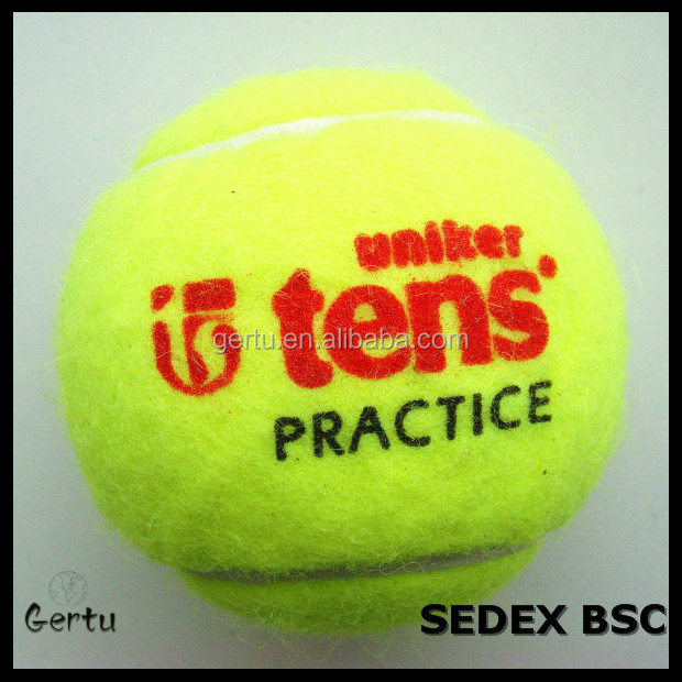 Practice quality tennis ball , 2.5inch tennis ball