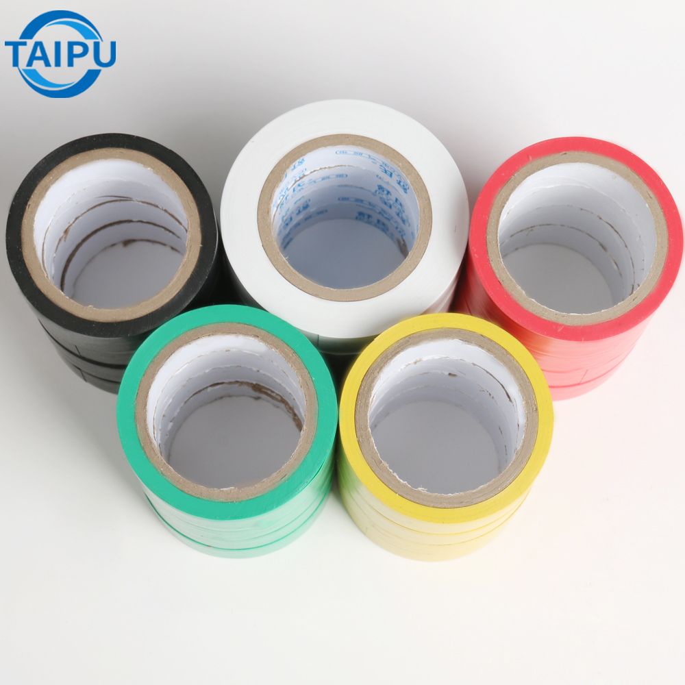 Antistatic Jumbo Roll Wonder Pvc Insulating Warning Pipe Wrapping Electrical Insulation Non Adhesive Tape Price