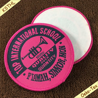 Custom Ready Made brand Patch woven school patches for Jerseys