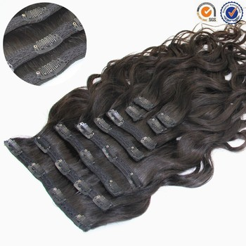 best selling clip in hair extensions for African American/black women, top quality clip in hair extension