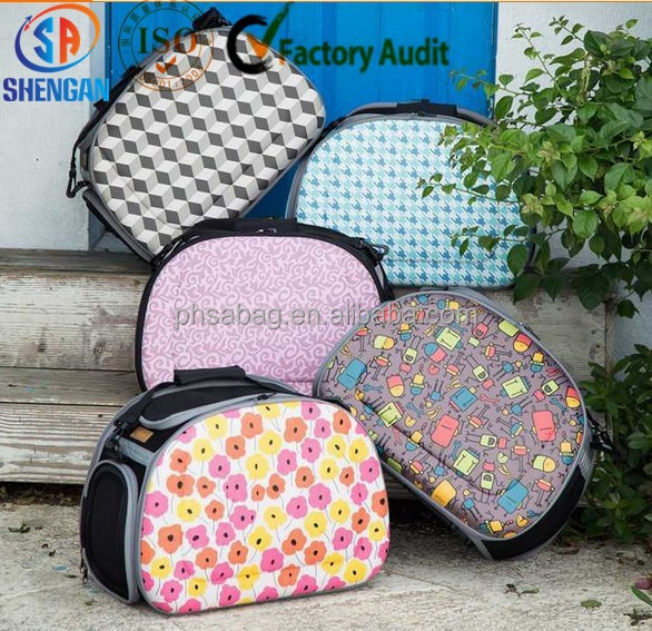 fashionable foldable EVA pet carrier bag