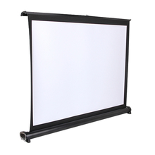 2016 New arrival Portable Mini Projection Screen / Projector Table Screen