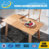 Square long narrow wood table top