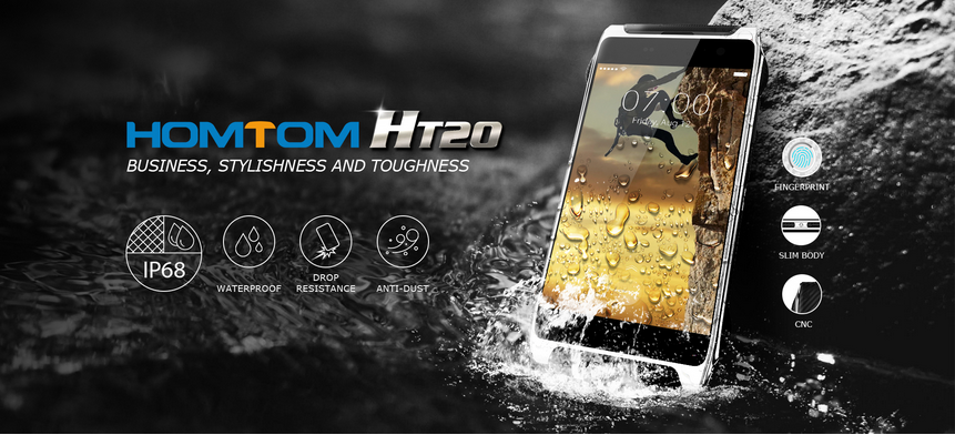 Newest original cheap mobile phone Homtom ht20 made in china for sale