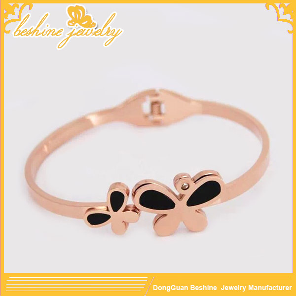 Gold Jewellery Belize Butterfly Bangle for Women