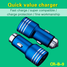 Double Speed Fast Charge Output DC 5V 3.1A Universal Portable USB Car Charger Adapter 2 Port For Iphone Charger