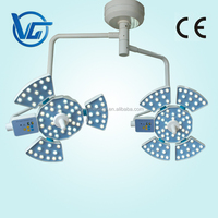 double heads durable Surgical Shadowless led operating lamp