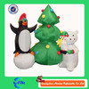 christmas decoration inflatable penguin inflatable christmas for advertising