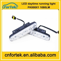 Cheapest price ! 12 months warranty high power 12v/24V LED Daytime Running Lights FK-008-X1led drl made in china for all cars