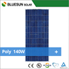 China bluesun factory 120w-160w high effeciency polycrystalline silicon solar panels for home use