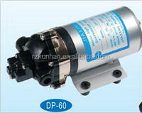 DP CE DC12V 24V small electric high pressure water pump for washing car DP60 water pump