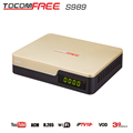 Digital Satellite Receiver TV tocomfree s989 with ACM iks sks free for South America
