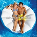 Bird nest shape pool inflatable island floating lounger