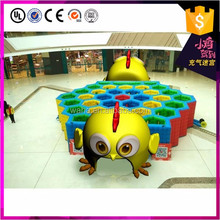 happy Chinese new year indoor outdoor inflatable chicken mascot maze