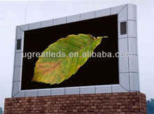 outdoor full color arc wall led display