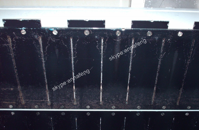 Titanium anode for Electrotinning
