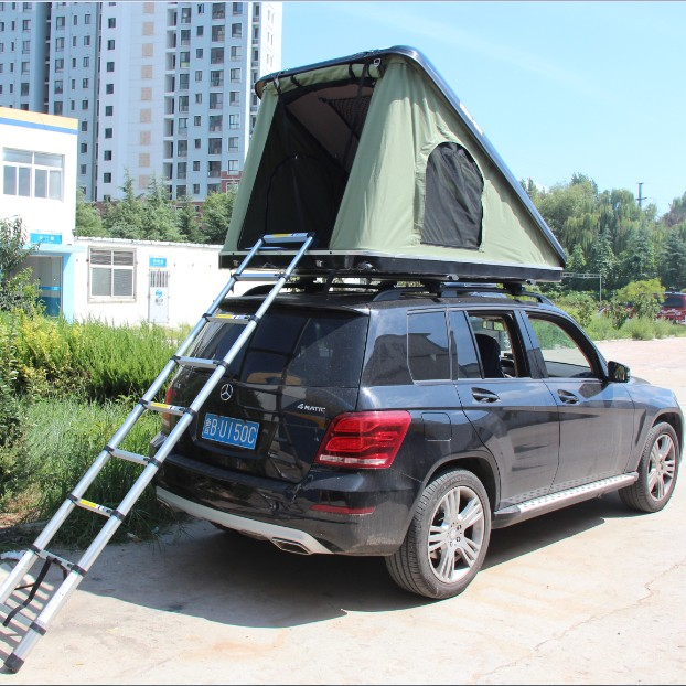 2019 Best Selling Triangle <strong>Tent</strong> Newest Outdoor Fiberglass Hard Shell Car Roof Top <strong>Tent</strong> for Rooftop <strong>Tent</strong> Sale