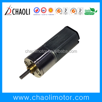 Sealing gear box structure 3.0V lectronic lock motor CL-G10-FFM20 with spur gear and metal brush-chaoli2016