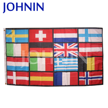 hot sell custom europe national country flag