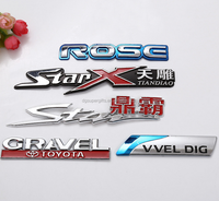 3D Plastic Custom Logo Car Badge Sticker Car Emblem