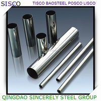 ASTM 310 plain polished welded stainless steel pipe for decoration, seamless stainless steel pipe for industrial