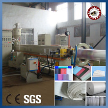 pe foam sheet extrusion line high capacity high output stable epe foam sheet extrusion machine