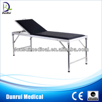 DR-209B FDA/CE/ISO Approved Stainless Steel Medical Examination Couch