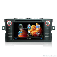 In-dash Car stereo radio/dvd/gps/mp3/3g multimedia system for Toyota dvd car dvd player