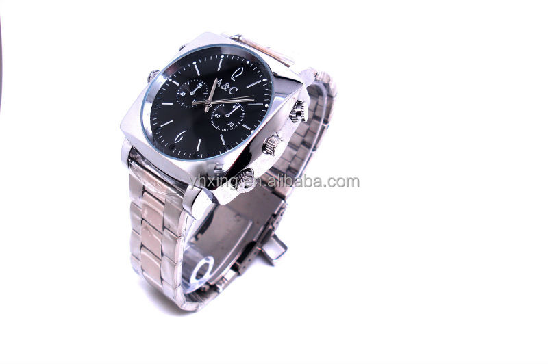 Newest H.264 720P HD Pinhole Watch Camera Recorder, Watch Video